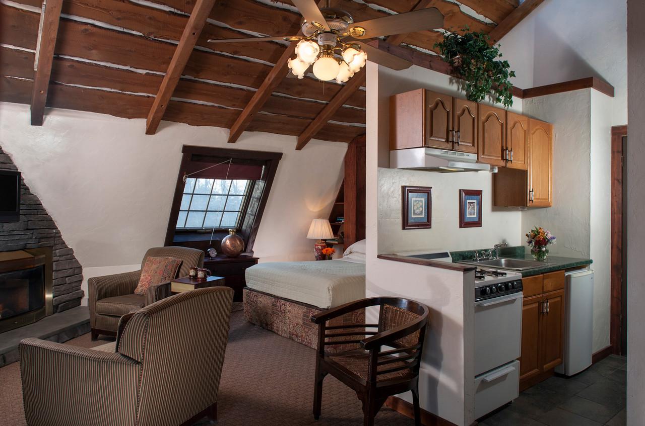 Cupola guestroom