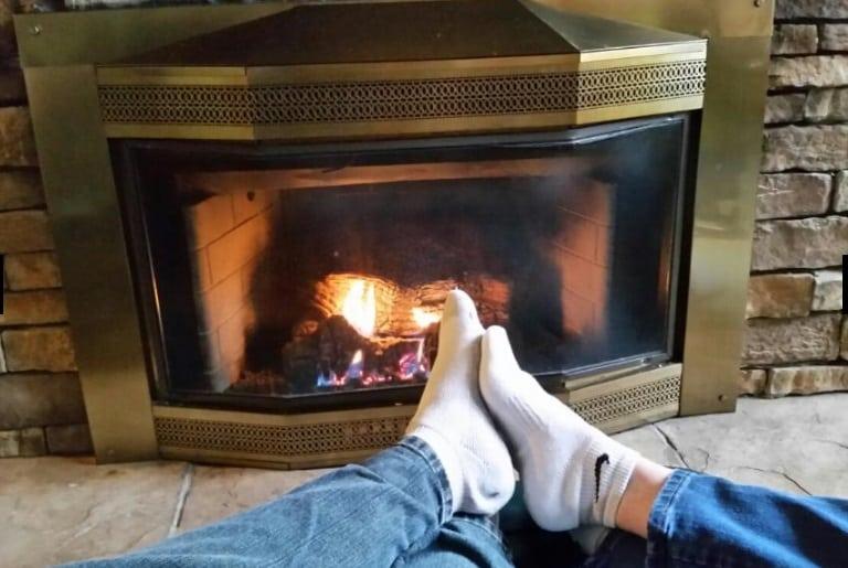 Fire & feet