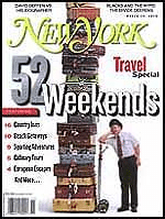 New York magazine: Travel special.