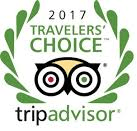 2017 TripAdvisor Travelers' Choice logo