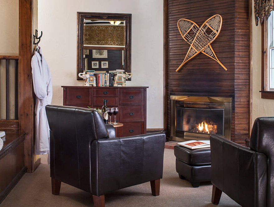 Room Seating Area with Fireplace