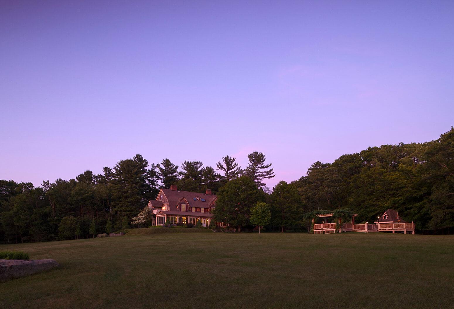 Inn at sunset