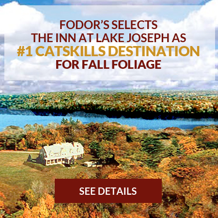 Fall Foliage at the Inn at Lake Joseph