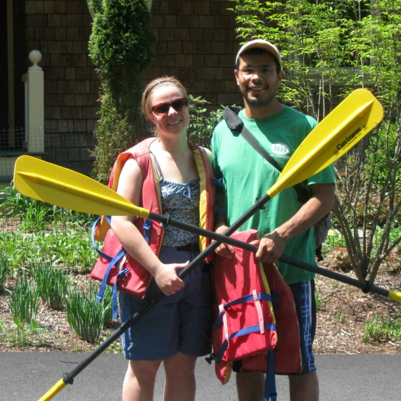 Kayak couple