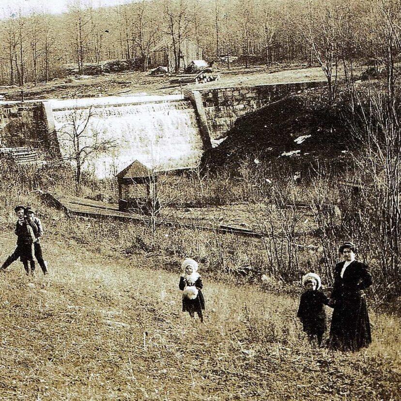 Lake Joseph 1880s